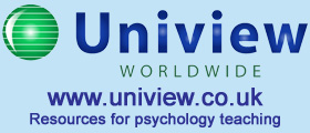 Uniview resources for psychology teaching